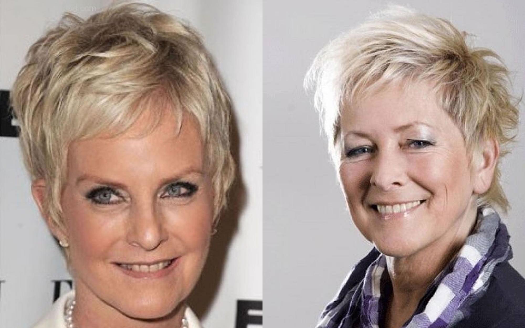 Short Haircut Images For Older Women & Pixie + Bob Fine ...