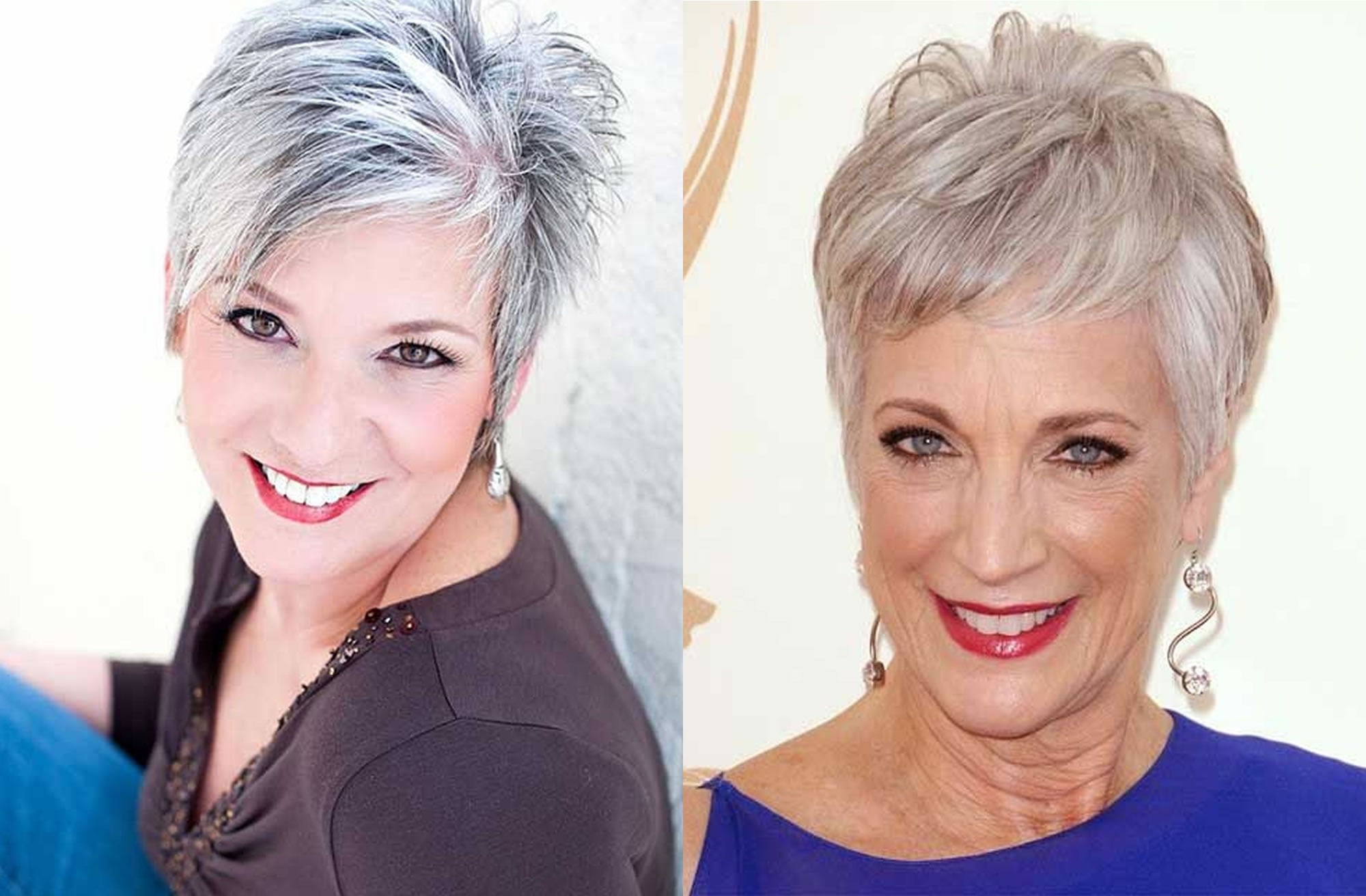 Short Hairstyles 2019: Short Pixie Haircut And Hairstyles For Older Women For