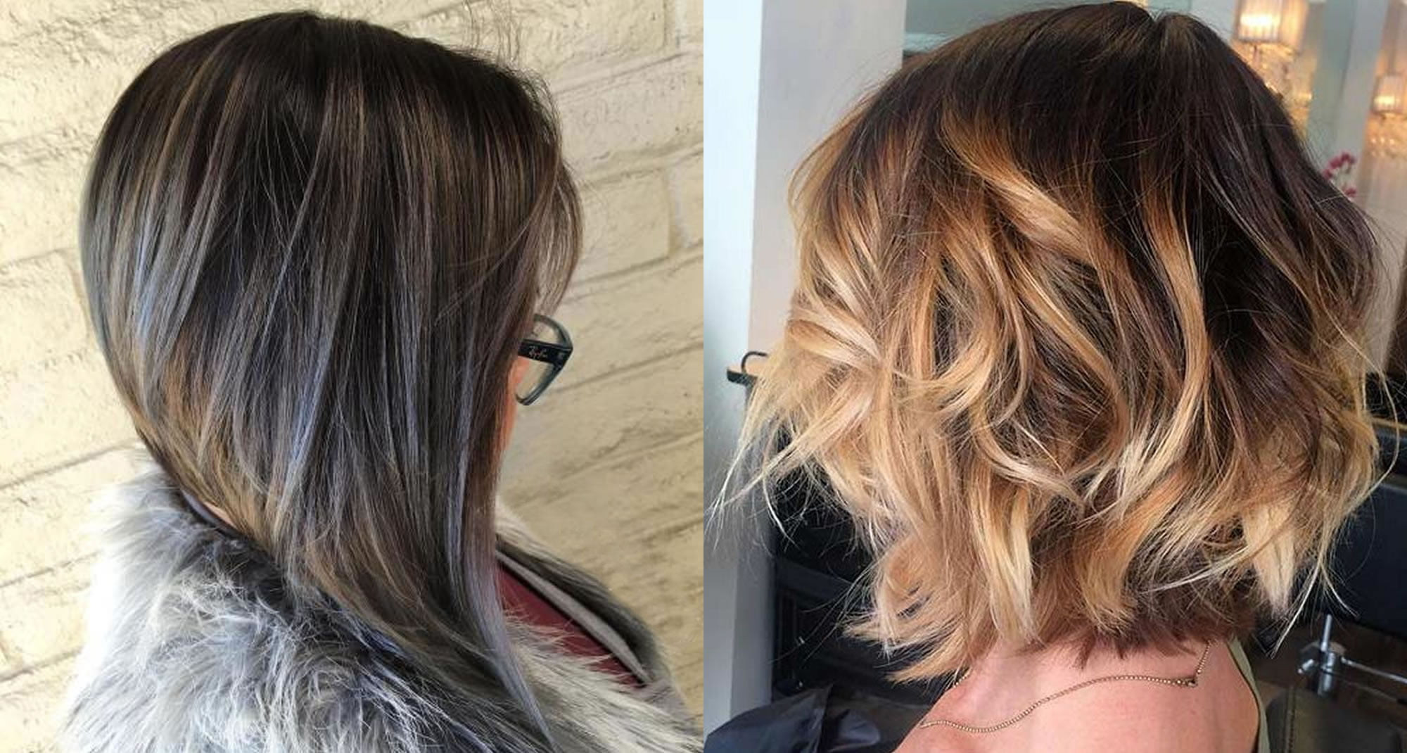 The Best 50 Balayage Bob Hairstyles Shortlong Highlights Page
