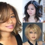 Easy Short + Medium Bob Haircut Images for Fine Hair Round Face