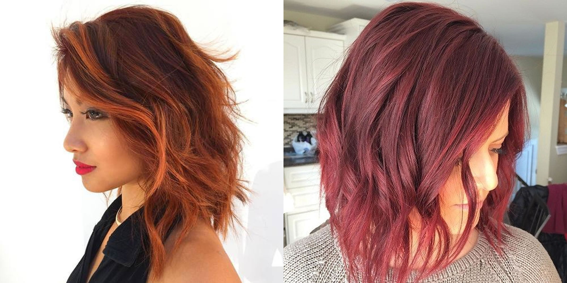 Long Bob Hairstyles And Hair Colors Haircut Image 23 Trendy Inverted Haircuts The