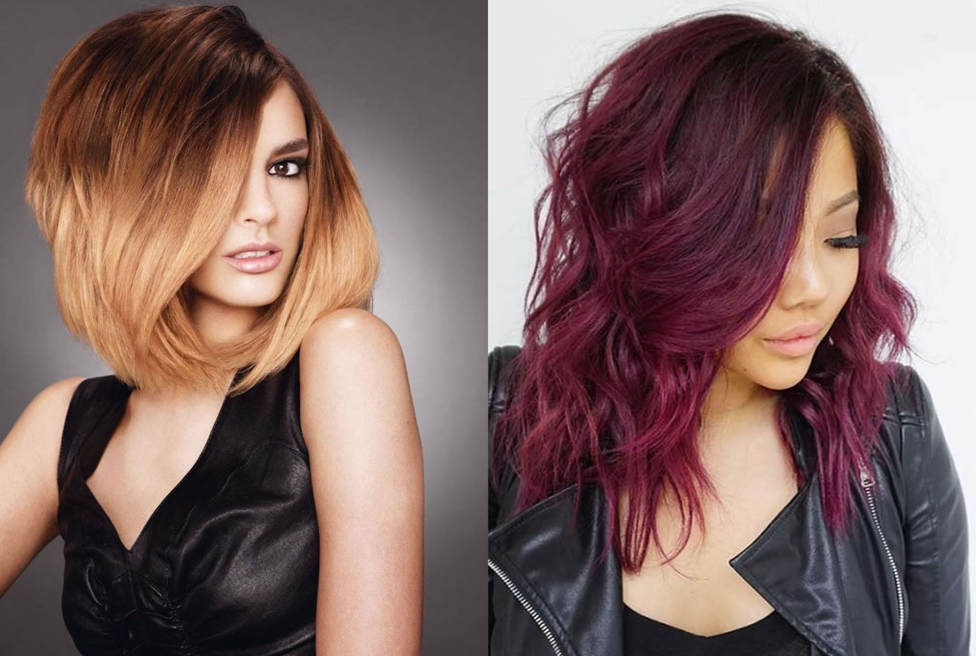 Must Try Ideas For Hairstyles 2019: Ombre Hair Color Ideas And Hairstyle Images To Try