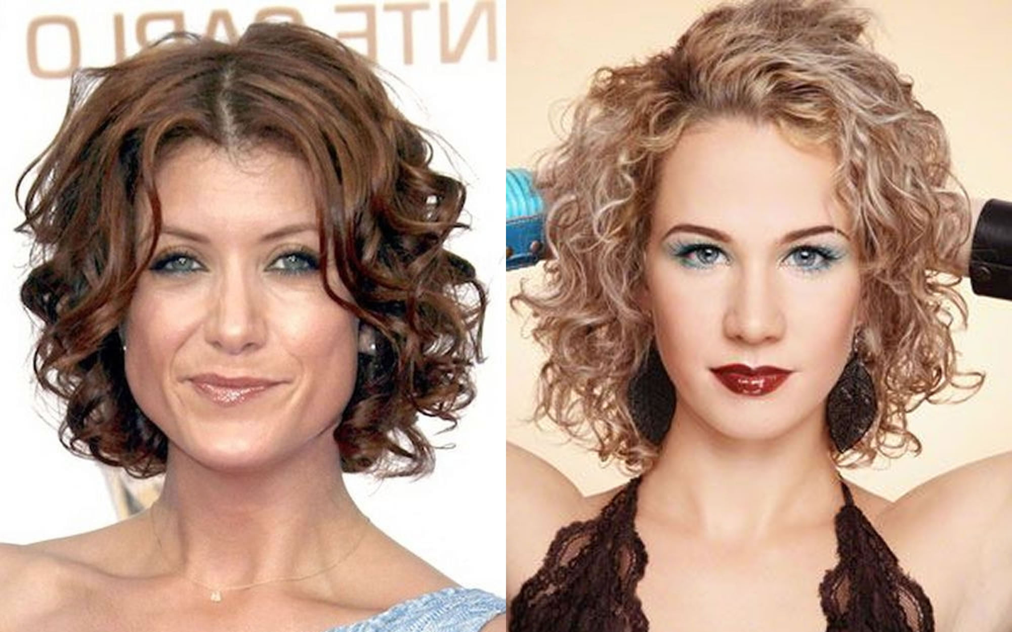 22 best curly short hairstyles for women 2018-2019