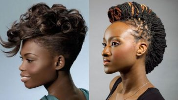 Mohawk Hairstyles for Black Women 2017-2018