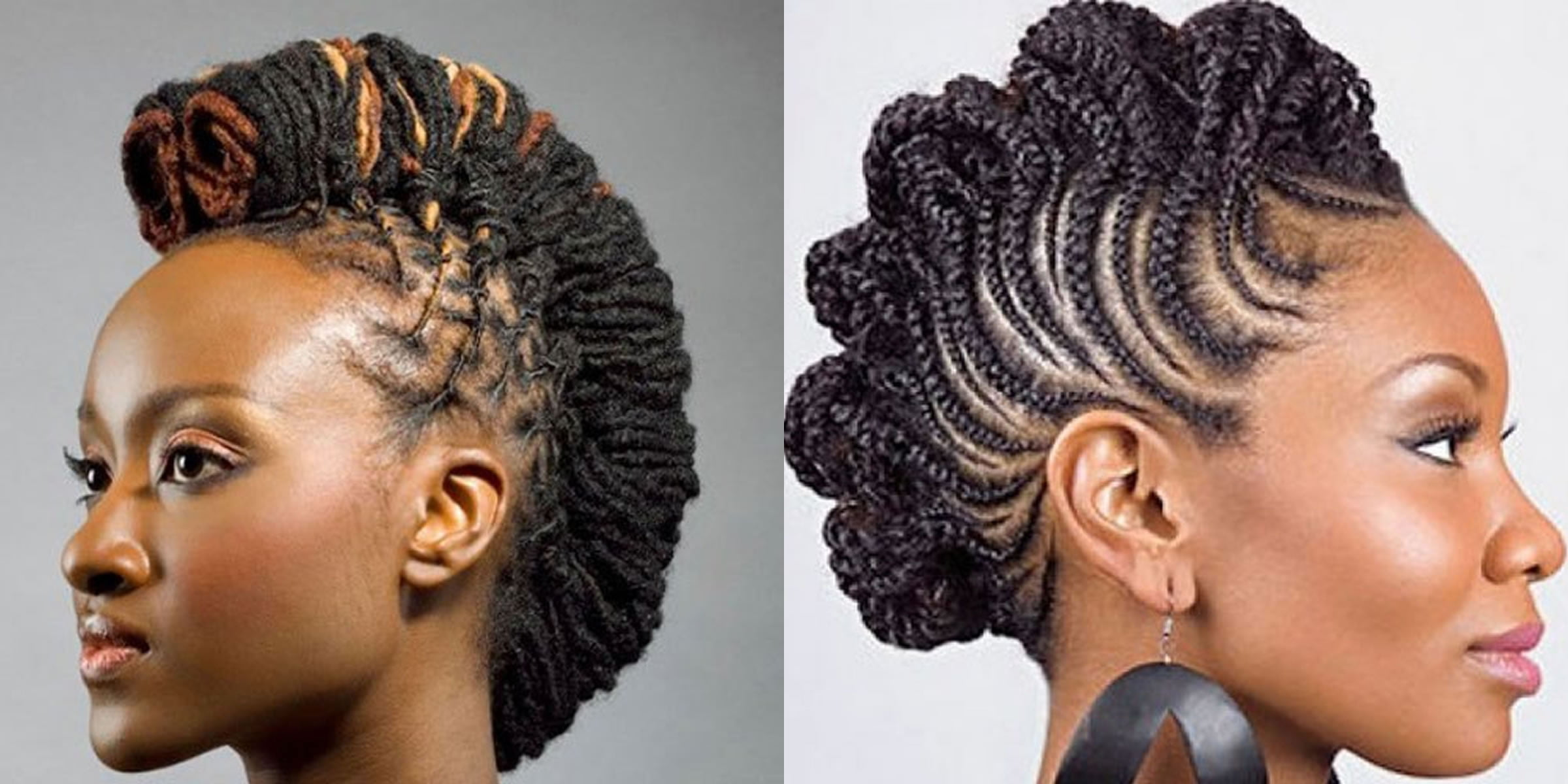 25 Mohawk Hairstyles For Black Women 2018 2019 Page 3 Of 7