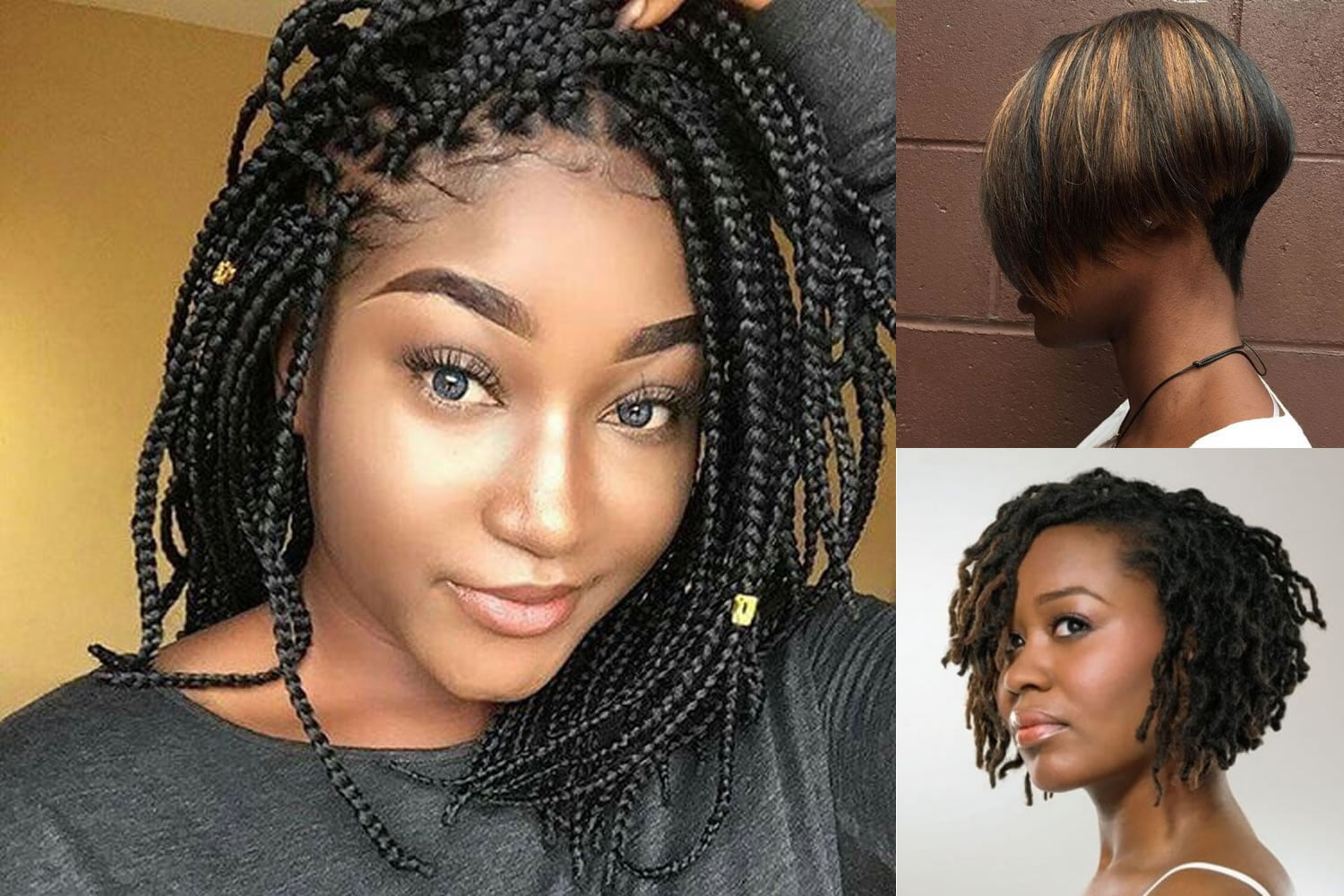 Hairstyles 2019: Short Bob Hairstyle For Black Women & Hair Color Ideas