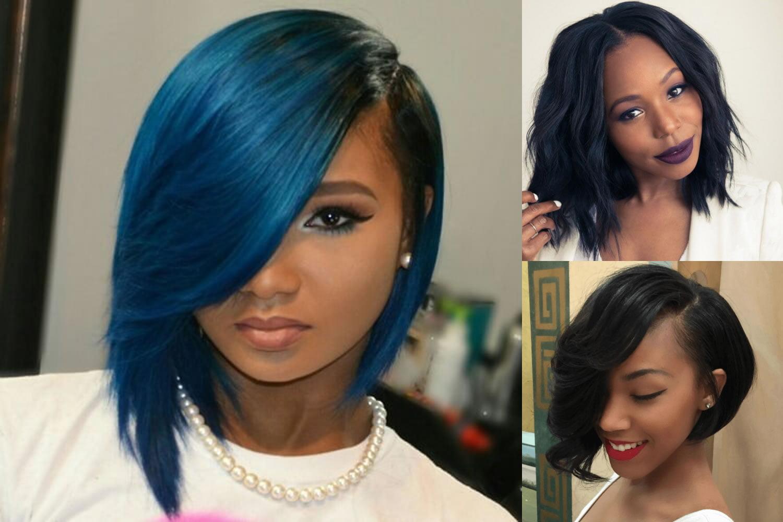 Short Bob Hairstyle For Black Women Hair Color Ideas 2018