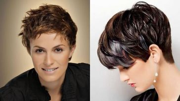Short Haircut for Women - How to Style Short Hairstyles 2018-2019