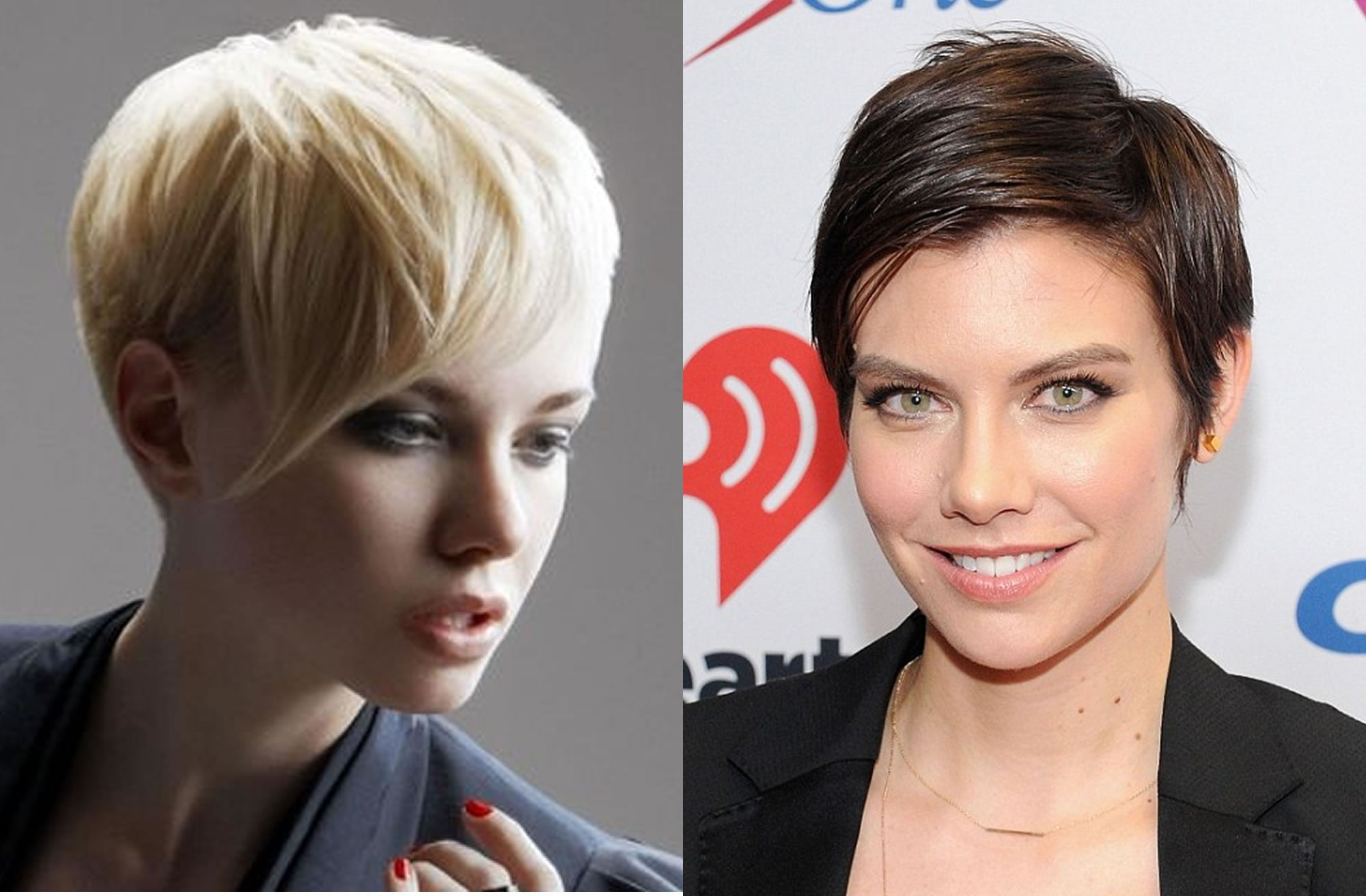 Short Pixie Hairstyles for Women 2018-2019 New Hair Colors
