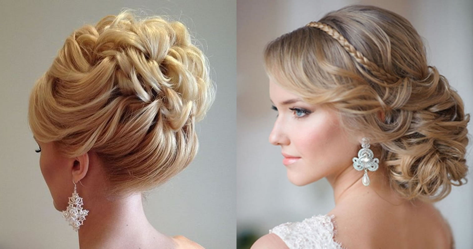 Updo Wedding Hairstyles 2019 - Hair Color Ideas for Bride