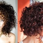 Balayage Hair Colors for Curly Short+Medium Hairstyles