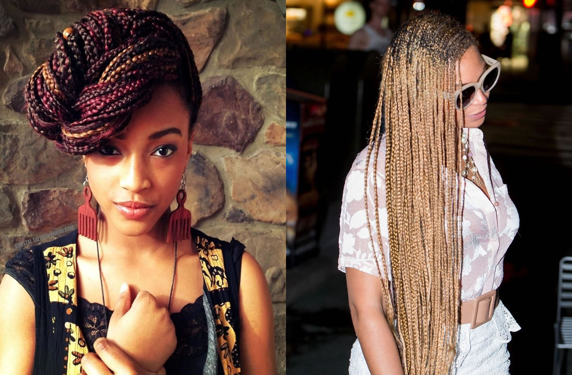 Braided Hairstyles For Black Women 2018-2019 Latest Hair