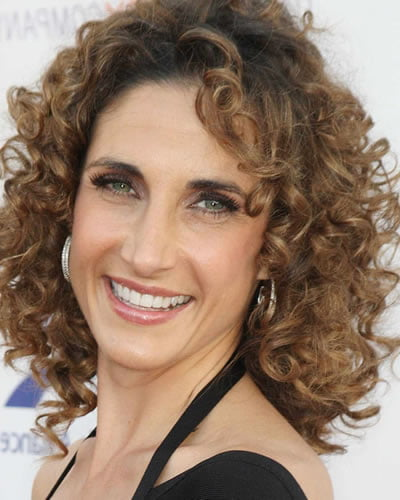 Curly hair style over 60