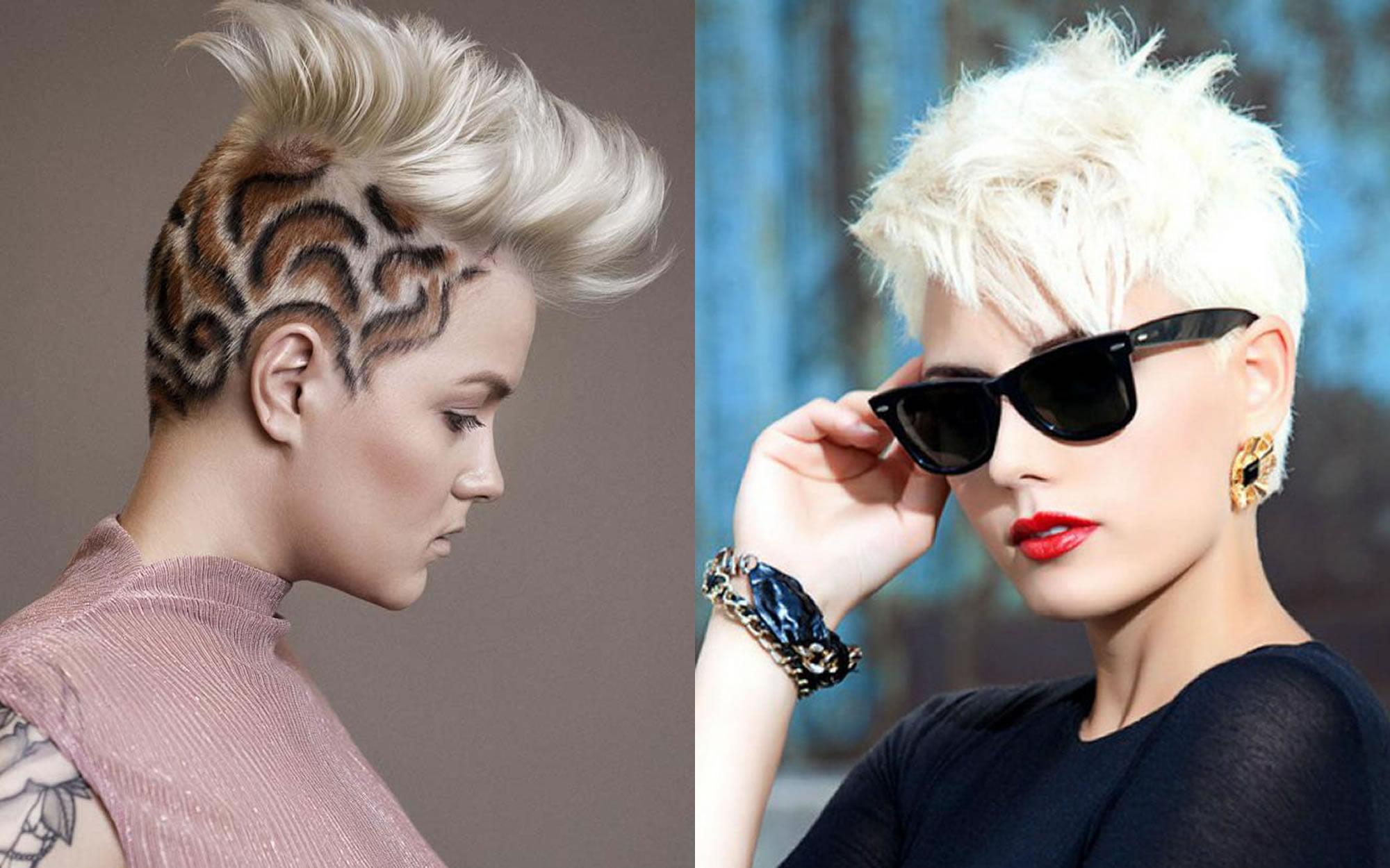 22 Cool Undercut Short Haircut For Female Best Hair Colors For