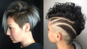 Undercut Short Haircut