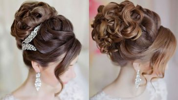 wedding upstyles for long hair