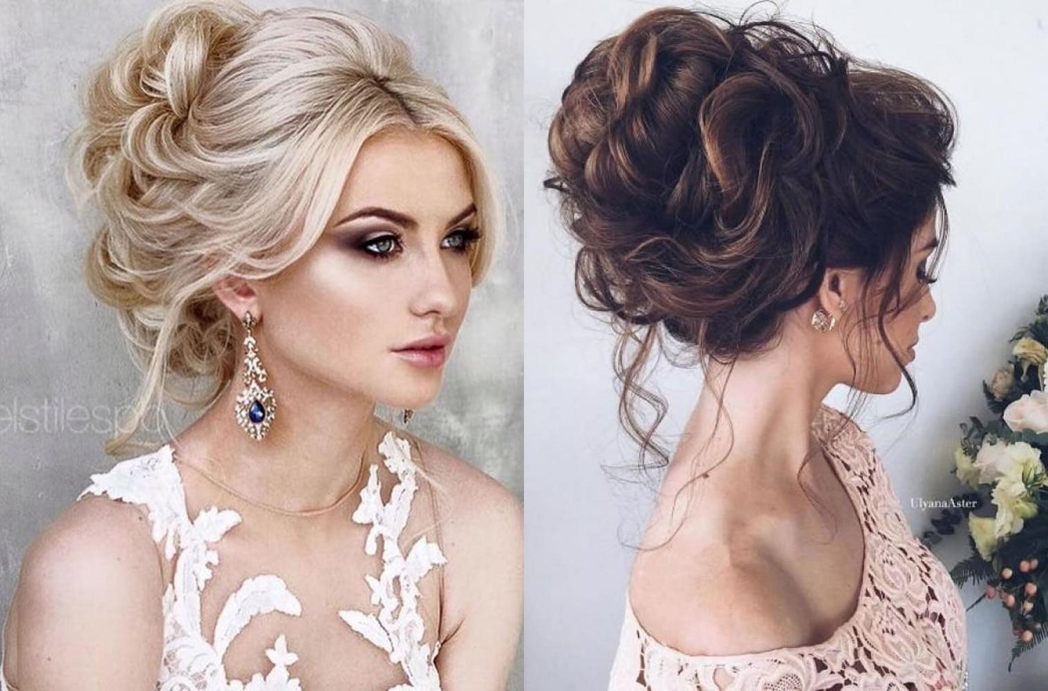 10 Beautiful Updo Hairstyles For Weddings 2019: Elegant Wedding Hairstyles 2019