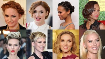 movie stars hairstyles 2018