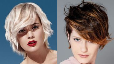 short hair for women with round face