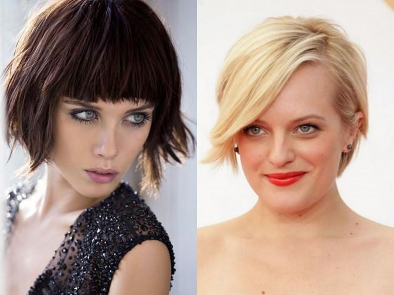 Short haircuts and hair color ideas for women for spring ...