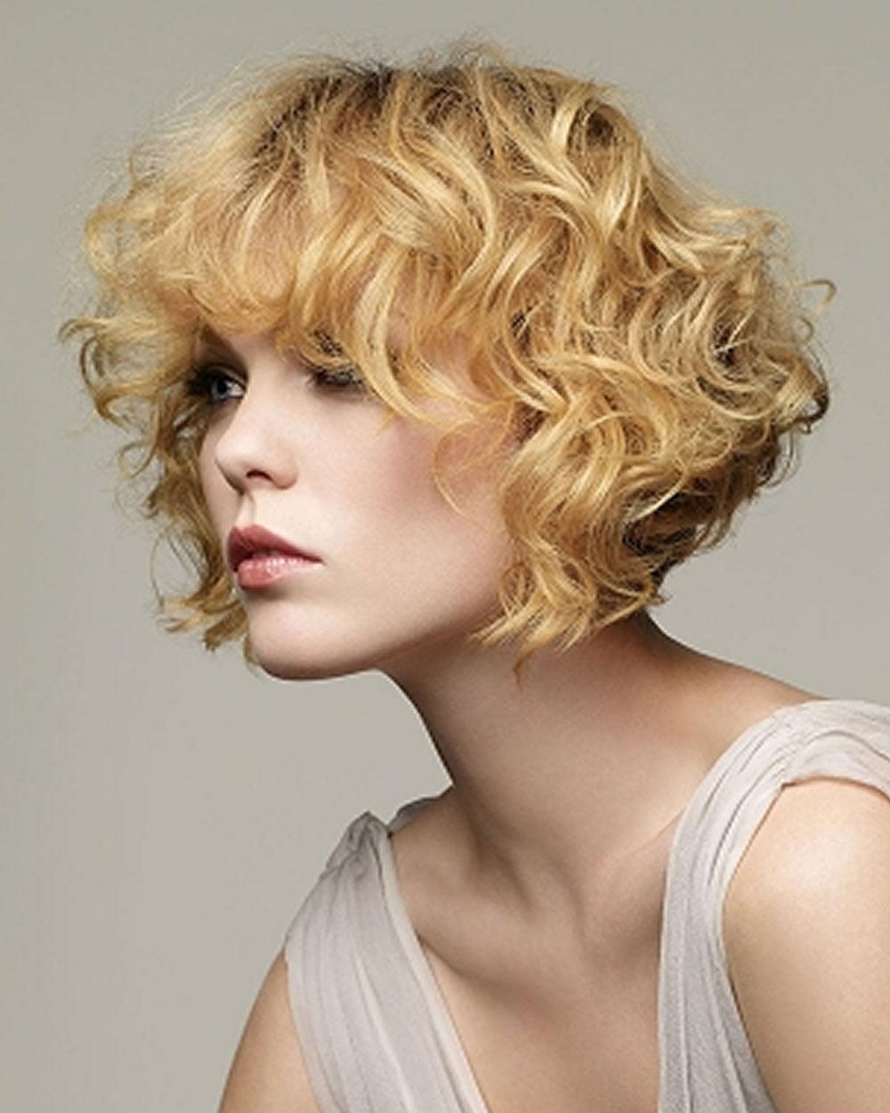 Brown short curly hair bob haircut 2019 - Hair Colors