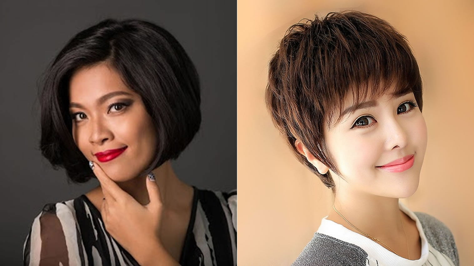 Fine Short Hair Ideas For Asian Women 2018 Hair Colours Page 4 Of 6
