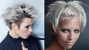 short grey hair ideas