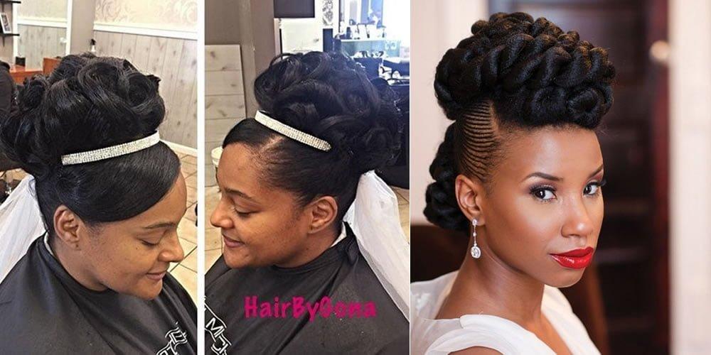 updo wedding hair