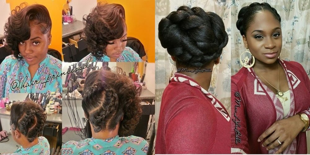 Black Wedding Hairstyles 2018 2019 Hair Colors