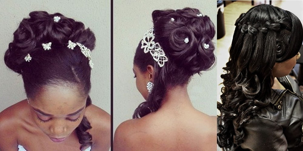Bridal hairstyles wedding for african american women - Hair ...