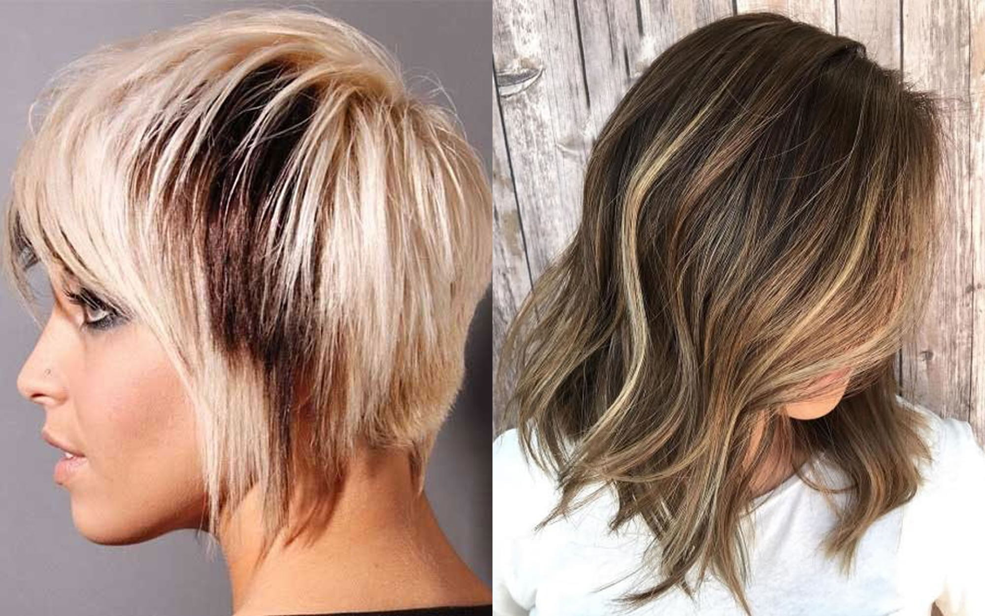 Ombre Hair Colors For Short Pixie Hair Balayage Hairstyles 2019