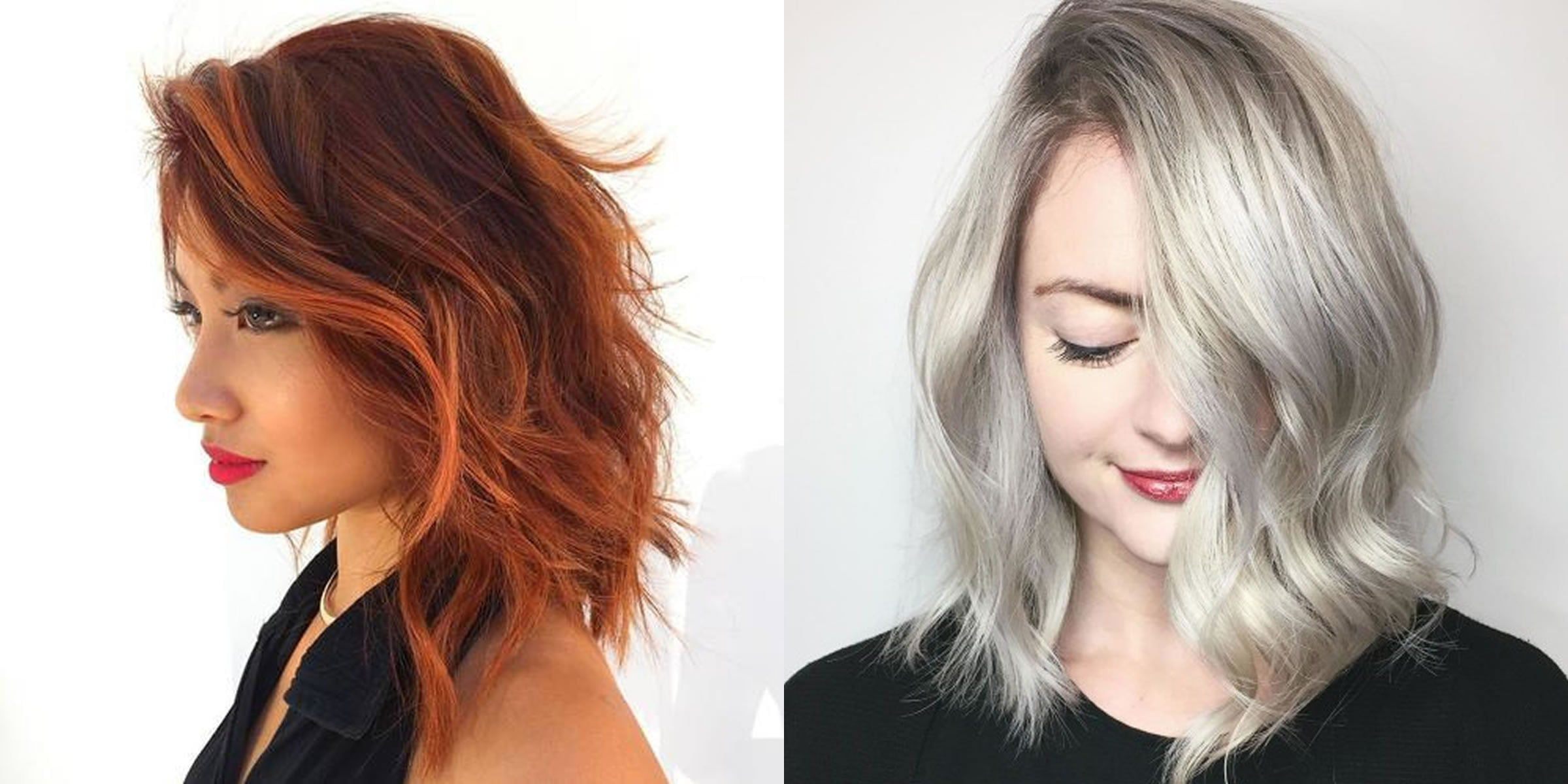 2019 Hairstyles And Colors: Brown Hair Color 2019 Long Bob Hairstyles