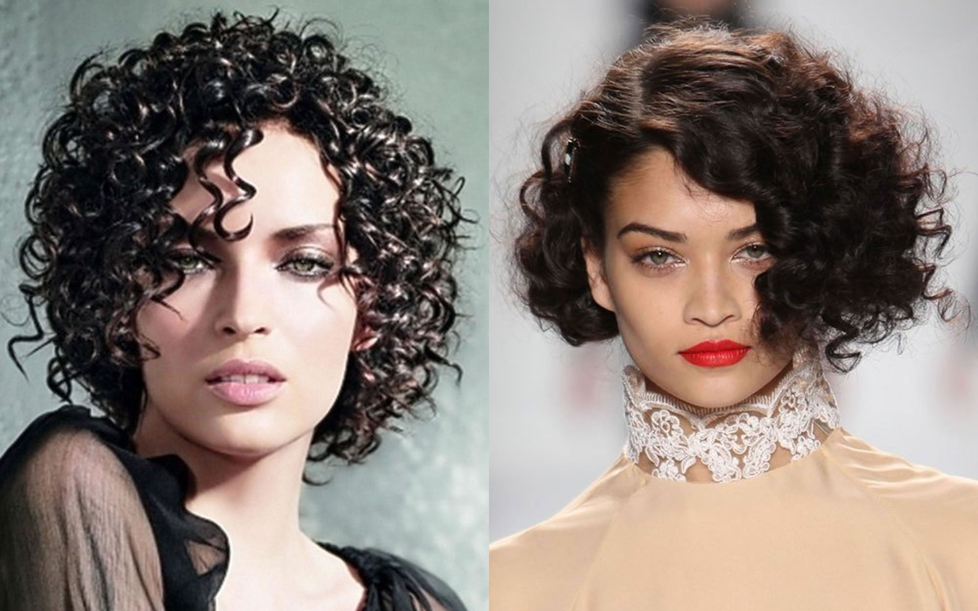 Short Hairstyles 2019 Curly: Curly Hairstyles For Short Hair 2018-2019