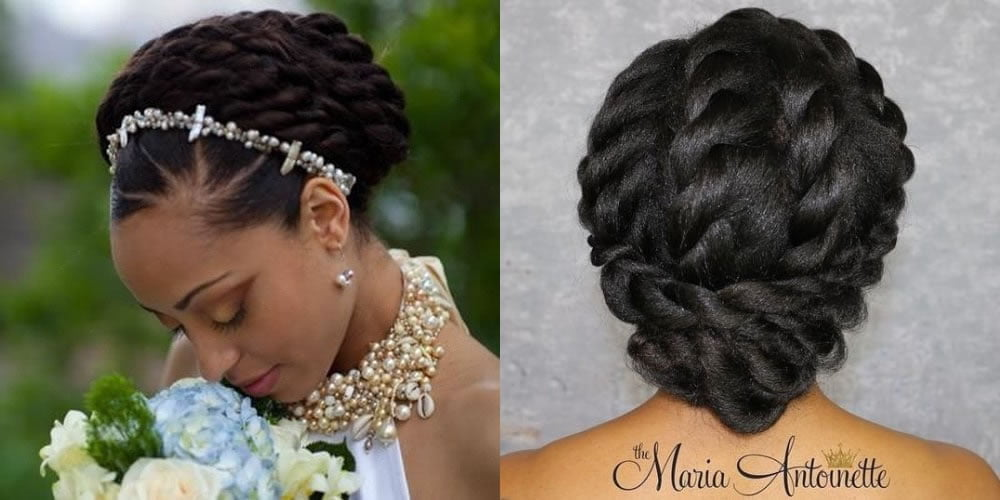 Easy Wedding Hairstyles For Black Women With Natural Hair