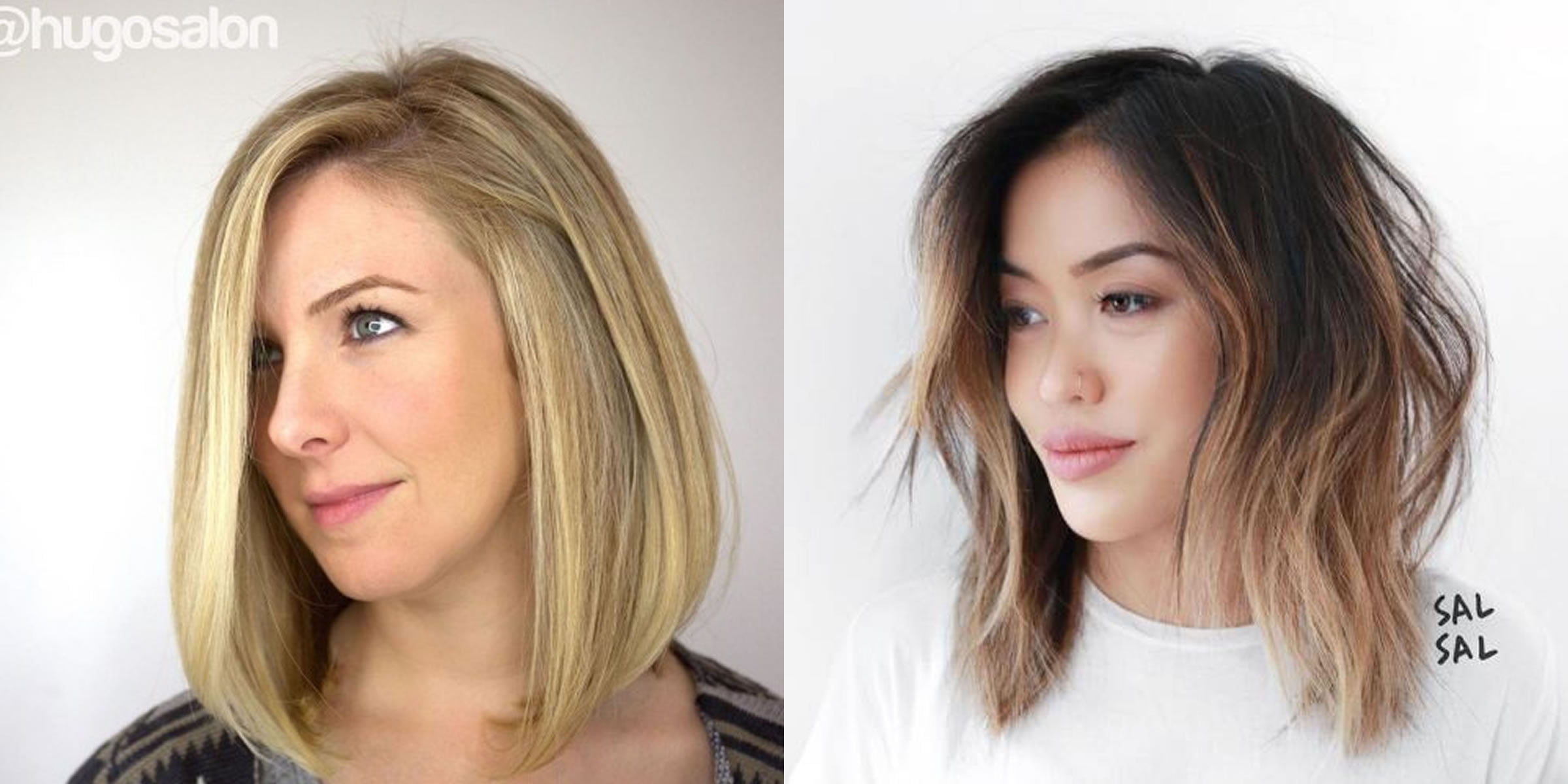 Long Bob Haircuts For Women With Round Face Hair Colors
