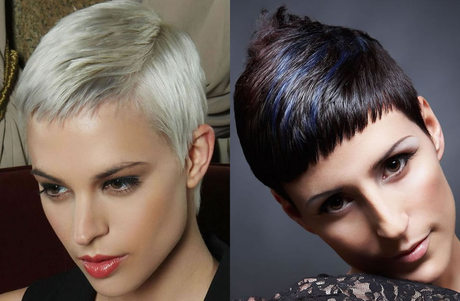 Hairstyles 2019: Side Swept Short Pixie Cut Hairstyles 2019 Trends