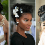 Bridal hairstyles for african american women