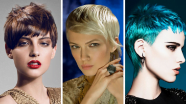 trendy pixie haircut