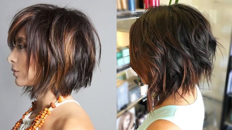 28 Shining Highlights Ombre Short Bob Hair Haircolors