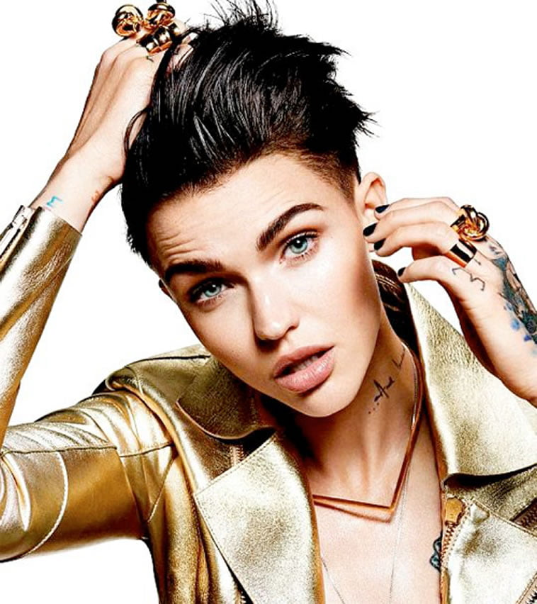 Ruby Rose's new pixie hair