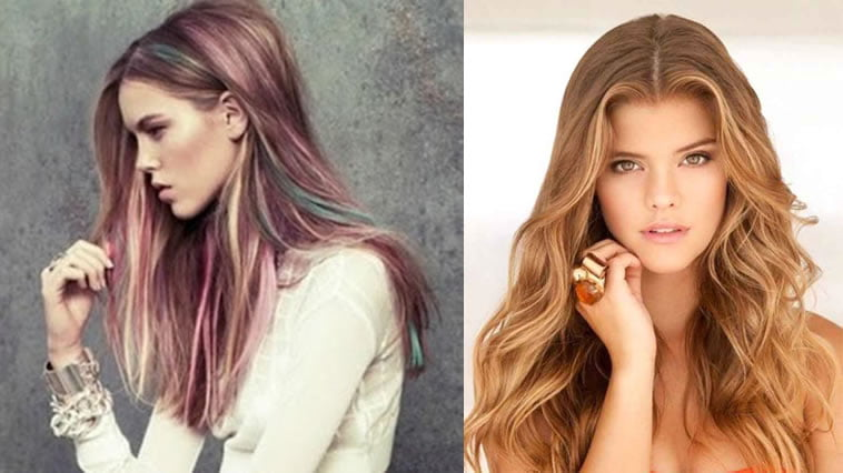 2018 Hairstyle For Dark Hair Color: Hair Color 2019 & Trendy Hairstyles And Haircuts For Women