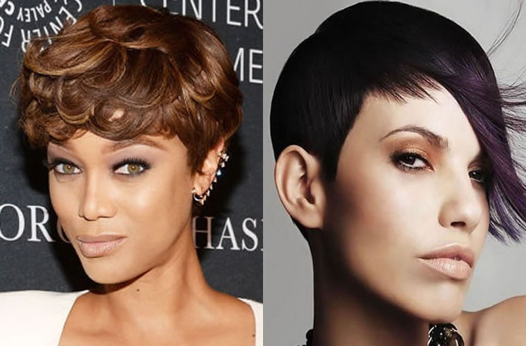 Short hair cut for black women