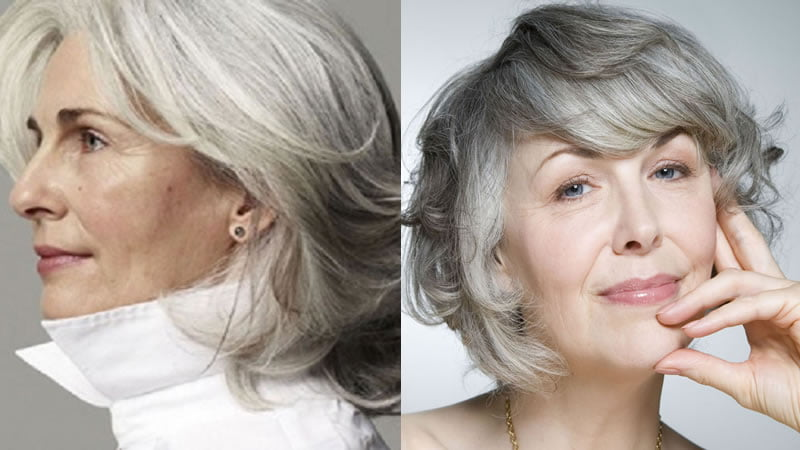 Short Hairstyles 2019 With Bangs: 30 Amazing Short Hairstyles For Older Women Over 60 & New
