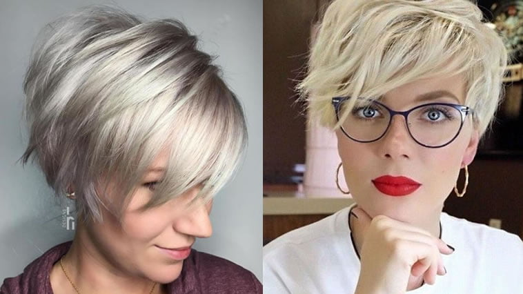 Over 50 short hairstyle