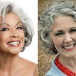 Short bob haircut for black women over 60