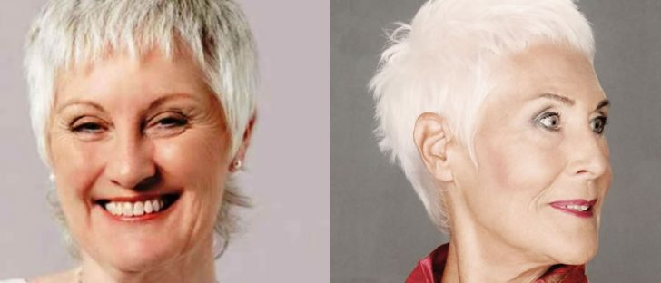 pixie haircut over 60