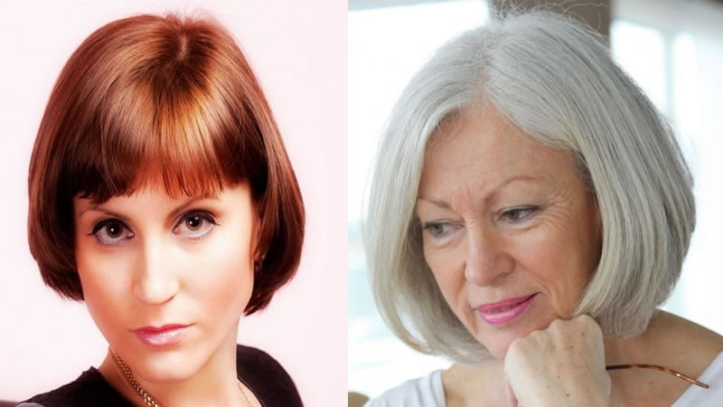 2019 Short Haircuts And Hairstyles For Older Women Over 50
