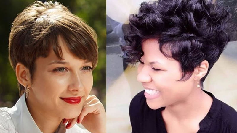 Natural Curly Short Haircut For Black Women 2019 Pixie