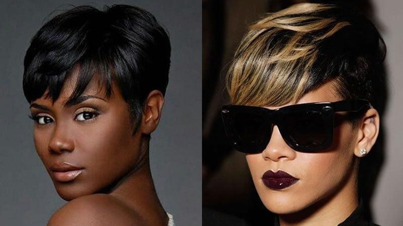 Short Hairstyles 2019 Female Black Hair Shush