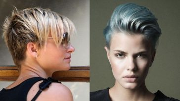 2019 undercut short hair for women
